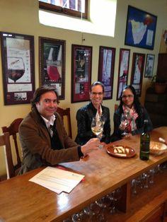 Visita de Sonia Cano, responsable del Blog Buchitos Gastronómicos.