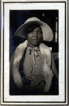 Young Woman in Bonnet    [Saulsberry Family Album 1920's-30's]    ©WaheedPhotoArchive, 2011