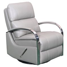 Barcalounger Regal Swivel Glider Recliner Contact Red - 84010350311