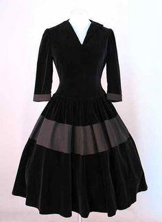 1950's full skirted dress