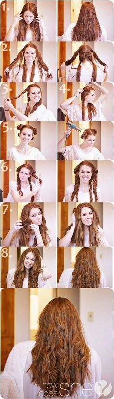 Hairstyle waves