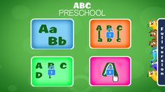"""Great app to teach the kids about the alphabet easily!  """"Pre School Learning Alphabet"""" is designed for the preschoolers and toddlers"""