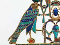 Pectoral of Princess Sit-Hathor-yunet (detail), Middle Kingdom, Dynasty 12, reigns of Senwosret II–Amenemhat III, ca. 1887–1813 B.C. Egyptian; From Lahun