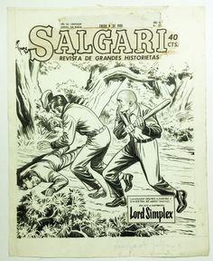 "Tarquinio, Sergio - Salgari: ""Lord Simplex"" - (1950) - W.B."