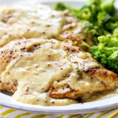 Ingredients: 4 Boneless, Skinless Chicken Breasts 2 Tablespoons Olive Oil 2 Tablespoons Butter 3 Garlic Cloves, Minced 1 cup White Wine 1 Tablespoon Dijon Mustard 1 Tablespoon Grainy Mustard 3 Tablespoons Honey ½ cup Heavy Cream ½ cup Chicken Broth Salt And Pepper, to taste