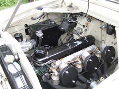 Zephyr Saloon with Triple SU Carburettors Ford Zephyr, Mk1, Britain