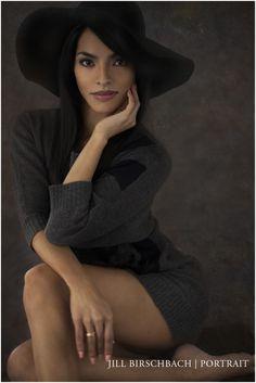 Pose.  Jill Birschbach   Portrait Modern Glamour Photography