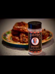 All Natural, Gluten Free Blended Family Spices called Babunya's Gourmet Spices. Great for Grilling & Cooking All Types of Meats, Game or Tame it's All the same. Great as well for Soups, Salads & Vegetables. Lady on Bottle is my 87 year old mom Janina.  All Made in the Pocono Mountains of PA USA www.babunyas.com.                         Three flavors to choose: ORIGINAL (no hot peppers), MILD (some hot peppers), and HOT (a lot of hot peppers) Pocono Mountains, Types Of Meat, Cooking On The Grill, Vegetable Salad, Stuffed Hot Peppers, Root Beer, Soups, Grilling, Salads