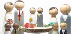 Toppers de madera personalizados DIY – Yo Digo Si, Wedding Planner Madrid