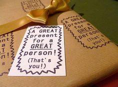 Presents, Gifts, Favors, Gift