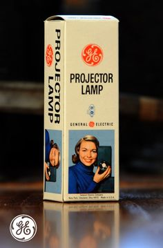 Projector #lamp from one of the early projectors made accessible to a larger audience dating back to the 1960's #Nela100