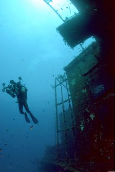 Cyprus Zenobia Wreck Diving Site