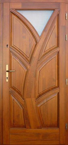 Main Entrance Door Design, Wooden Front Door Design, Wooden Front Doors, Entrance Doors, Pooja Room Door Design, Bedroom Door Design, Door Design Interior, Single Main Door Designs, Wooden Glass Door