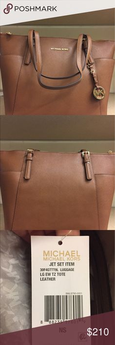 946816ee4624 Saffiano leather with gold detailing. brand new with tags and dust bag.  Travel HandbagsTravel LuggageMichael Kors ...