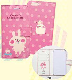 """Kanahei small animals notebook type Sumahokesu foriPhone6 / 6s rabbit [Dream Rush] """"03 May reservation"""""""