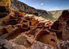 Pueblo Ruin Mesa Verde, Colorado