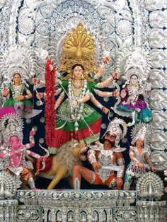 9 awesome Silver Filigree aka Chandi Medha Durga Puja Pandals of Cuttack