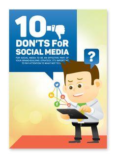 10 Don´ts for Social Media