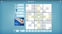 Screenshot: Classic Sudoku with a clean & simple design