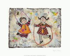 Jump! Prints by Barbara Olsen