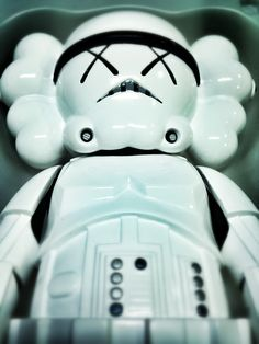 Kaws Stormtrooper Piggy Bank, Snoopy, Fictional Characters, Art, The Originals, Art Background, Money Box, Kunst, Money Bank