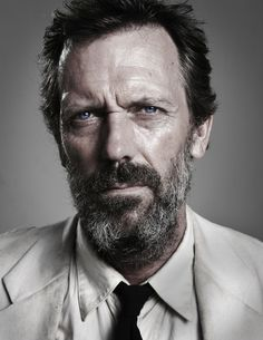 Hugh Laurie by Stuart Miller, via Behance