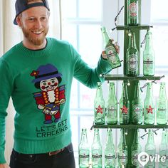 Get our essential guide to hosting ugly sweater parties now on #EviteGatherings. #31DaysofParty