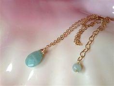 Sea Blue simple drop .... Simple and elegant