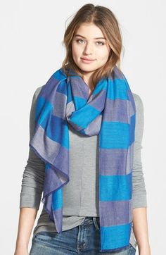 Vince Camuto 'Check Yourself' Wrap available at #Nordstrom
