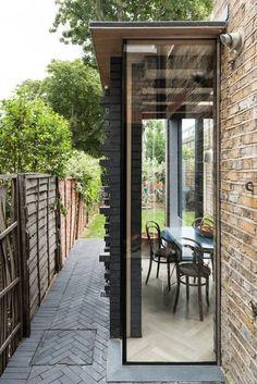 House Extension Design, Glass Extension, Extension Designs, Extension Ideas, Side Extension, Garden Room Extensions, House Extensions, Modern Interior Design, Interior Architecture