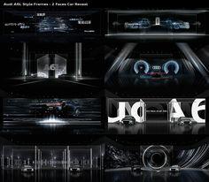 Audi National Launch 2019 on Behance Z Music, New Media Art, Honda Fit, Cg Artist, Audi Sport, Sound Design, Stage Design, Visual Effects, Motion Design