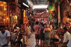 Colourful Marrakech Souk