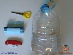 bolsas para alimentos reciclando botellas