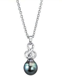 9-10mm Tahitian South Sea Cultured Pearl Adrian Pendant >>> Check out the image by visiting the link.