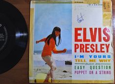ELVIS PRESLEY I'm Yours / Easy Question + 2 *RCA 3-20958 Spain 1966 EP 45 rpm