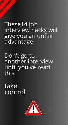 14 Powerful Job Interview Hacks Don't go to a another job interview before you read this. A complete and comprehensive guide to job hunting success. Step by step guide leaves nothing to chance Job Interview Outfits For Women, Interview Techniques, Interview Advice, Interview Skills, Job Interview Questions, Job Interview Tips, Job Interviews, Interview Preparation, Teaching Interview Outfit