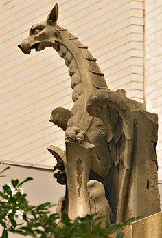 Brooklyn Museum gargoyle.   ..rh