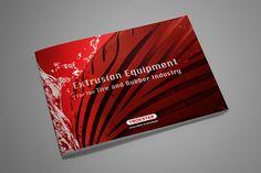Imagebroschüre »Extrusion Equipment« (Showcase auf Behance) Behance, Design, Design Comics