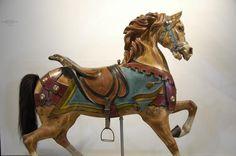 Late 19th Century Gustav Dentzel Carousel Horse; I love vintage carousels.
