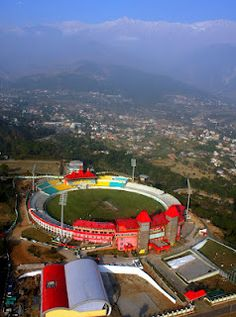 CRICKET: WORLD'S TOP 3 MOST PICTURESQUE AND HIGHEST CRICKET GROUNDS, HIMACHAL INDIA
