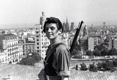 Marina Ginestà - Vétérane française de la guerre Civile Espagnole - Membre des Brigades Internationales - Anti-fasciste - 1919-2014 -