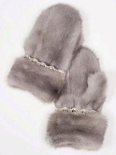 ♔ Luxury Fur | Mink fur | Меховые варежки из норки