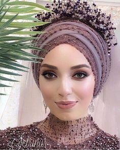 Pinterest adarkurdish Mode turban, Robe soirée hijab