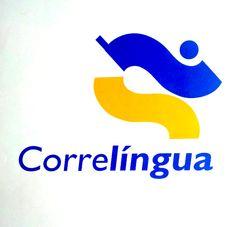 Marca para CorreLingua, actividade lúdica reivindicativa do Galego para escolares. Galiza 2005