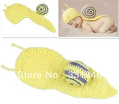 Sweet Snail  Newborn Baby Crochet