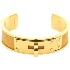 20% off 4/9 - 4/10 with BUNNY20.   Hermes Lizard Kelly Cuff Bracelet - great for stacking