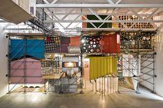 John Bock Exhibition Build & Installation - Temporare Kunsthalle Berli   Exhibition Continues Ltd