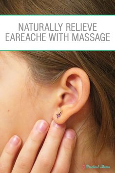 Ear infection and earache are painful for both children and adults. Lymphatic drainage massage is an easy and quick remedy for earache and ear infection. It drains fluid from the inner ear and relieves the earache caused by ear infection for your child or yourself naturally.