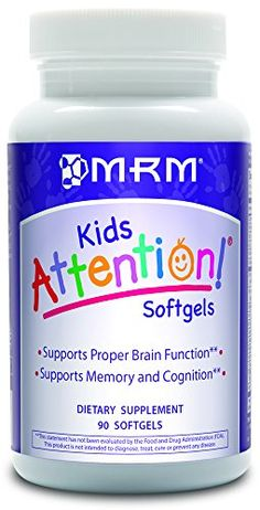 MRM Attention Softgels 90Count Bottle Packing may vary ** Check this awesome product by going to the link at the image.  This link participates in Amazon Service LLC Associates Program, a program designed to let participant earn advertising fees by advertising and linking to Amazon.com.