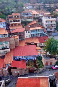 Тбилиси_Вид с канатной дороги
